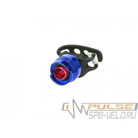 Фонарь задний KMS(1 led)blue