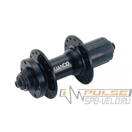 Втулка задняя QUANDO KT-MD4R(32H/M10x135x145/8-9sp/QR/disc)black