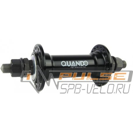 "Втулка передняя QUANDO KT-A16F(36H/3/8""/100/140)black"