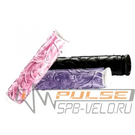 Ручки VELO VLG-731-3AD2(126mm)purple/white