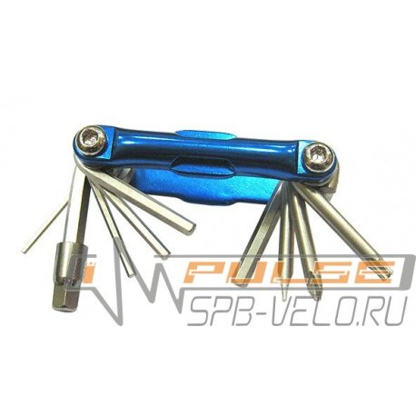 Ключ COLOURY (набор) 10 CL-1031(blue)