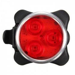 Фонарь задний ZECTO DRIVE(3 led/4 functions)USB