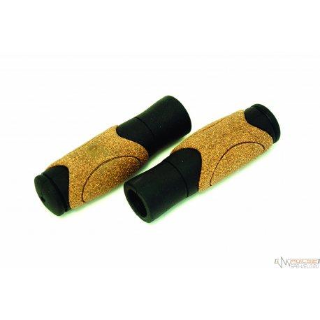 Ручки CLARKS C82-CORK(125mm)черно-коричневые