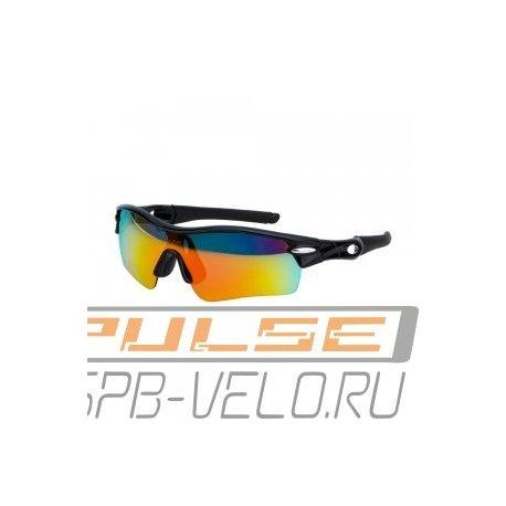Очки вело.VS VG 02(2 линзы/оправа красная)