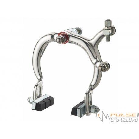 Тормоза клещевые ALHONGA HJ-1020A(F)винт 51мм/73-91mm/silver