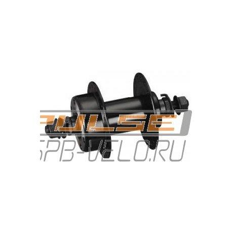 """Втулка передняя GA-23F(36H/3/8""""/100/140/disc)steel/black"""