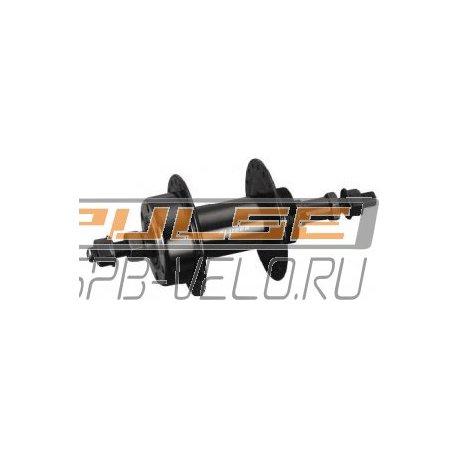 """Втулка задняя GA-23R(36H/3/8""""/135/170/7sp/disc)steel/black"""