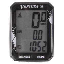 Велокомпьютер VENTURA XI(11 function)черный