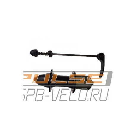 Втулка задняя A281R(36H/M10x135x145/QR/8-9sp)black