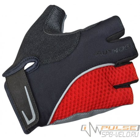 Перчатки AUTHOR TEAM X6(black/red)XXL