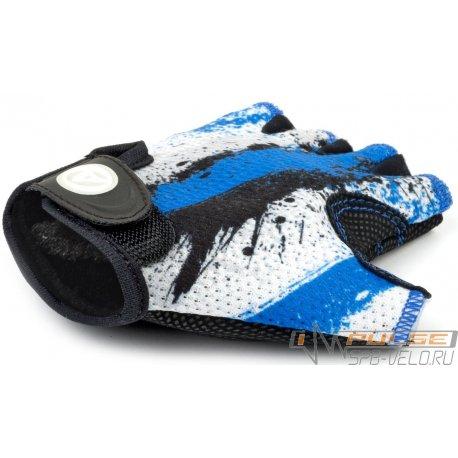 Перчатки детские AUTHOR X6(blue/white)L