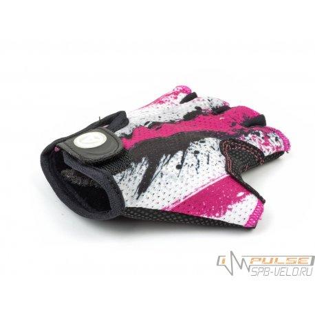 Перчатки детские AUTHOR X6(pink/white)M