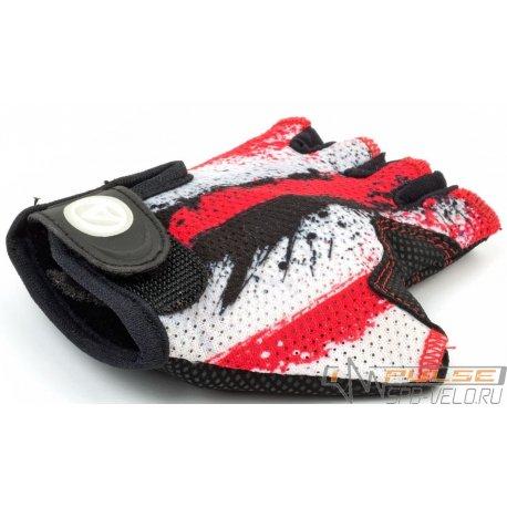Перчатки детские AUTHOR X6(red/white)S