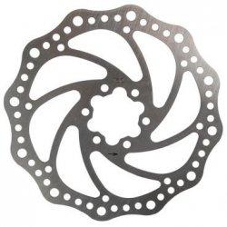 Торм. диск 5-360600 (ротор) для диск. тормоза 160мм+6болтов нерж. сталь серебр. M-WAVE NEW