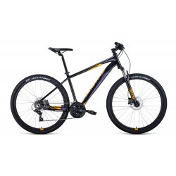 """Велосипед FORWARD APACHE 3.0D 27.5""""/21""""(20)белый/оранжевый"""
