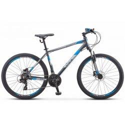 """Велосипед STELS Navigator-590D 26""""/16""""(21)серый/синий"""