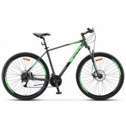 "Велосипед STELS Navigator-920MD 29""/18.5""(21)антрацит/зеленый"