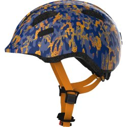 Шлем детский ABUS Smiley 2.0 S(45-50)сине-оранжевый