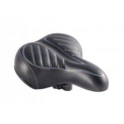 Седло HF-AZ-1228 250х200mm(черное/серое)