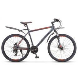 "Велосипед STELS Navigator-620D 26""/14""(21)антрацит"