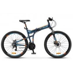 "Велосипед складной STELS Pilot-950MD 26""/17,5""(21)т.синий"