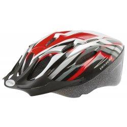 Шлем M-WAVE ACTIVE(M)53-57cm(черно-красно-белый)