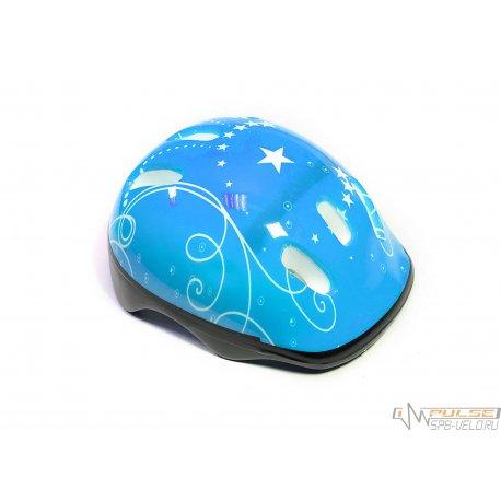Шлем детский HT-D004 BLUE-S(52-54см)