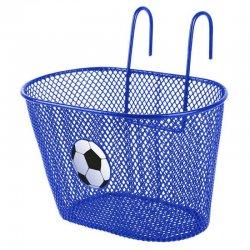 Корзина детская 250х145х150мм(сталь)синяя с логотипом