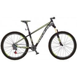 """Велосипед HORST Crown 29""""/17""""(21)черный/серый/лимонный"""