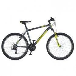 """Велосипед AUTHOR Outset 26""""/15""""(21)серый/салатовый"""