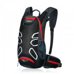 Рюкзак вело ANMEILU(черный/красный)15L