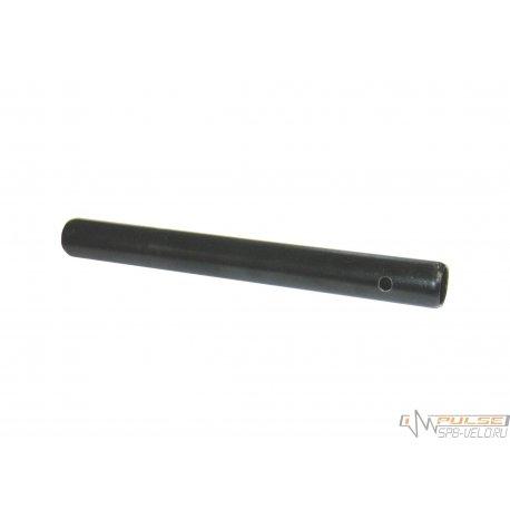 Штырь подседельный(22x210)сталь/черный