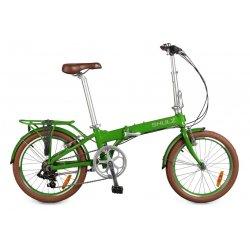"""Велосипед складной SHULZ EASY 20""""(20)светло-зеленый"""