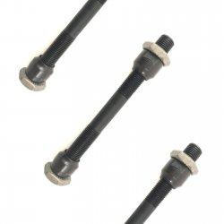 """Ось передняя KENLI KL-900 3/8""""x108mm(QR)черная"""