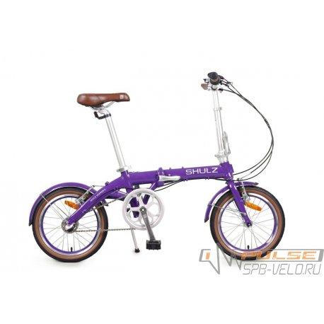 """Велосипед складной SHULZ Hopper 3 16""""(21)фиолетовый"""
