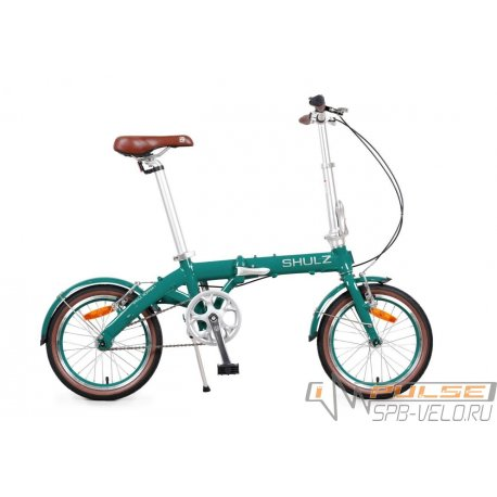 """Велосипед складной SHULZ Hopper 16""""(21)темно-зеленый"""