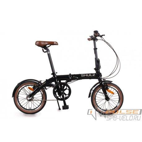 """Велосипед складной SHULZ Hopper 3 16""""(21)черный"""