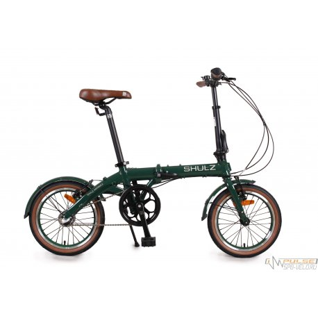 """Велосипед складной SHULZ Hopper 3 16""""(21)темно-зеленый"""