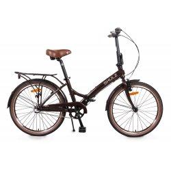 """Велосипед складной SHULZ Krabi C 24""""(21)коричневый"""