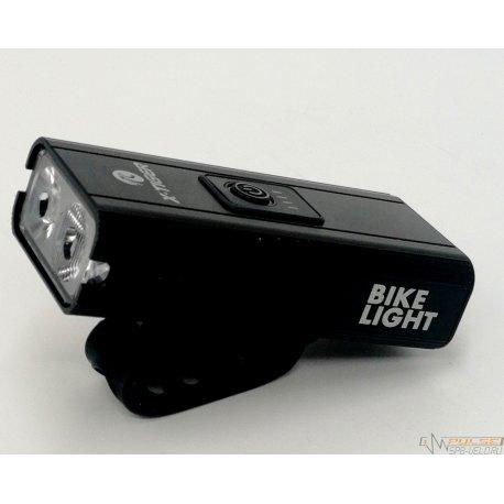 Фонарь X-TIGER  QD-0202(2 led T6/6 functions/USB)Al/black