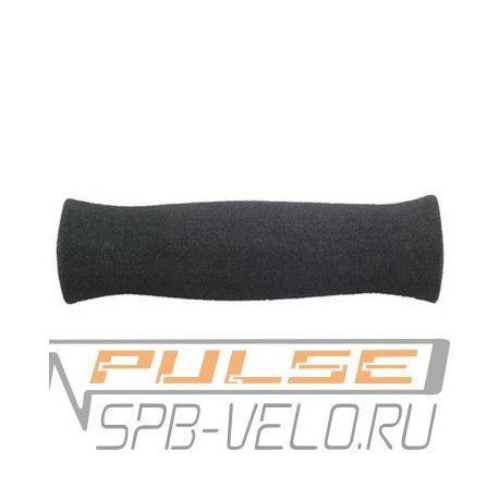 Ручки на руль полеуретанновые VELO(125mm)black/neoprene