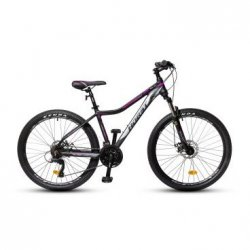"""Велосипед HORST Solara 26/18""""(21) черный/розовый/фиолетовый"""