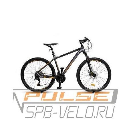 """Велосипед HORST Dominator 27.5/19""""(21) серый/оранжевый/черный"""