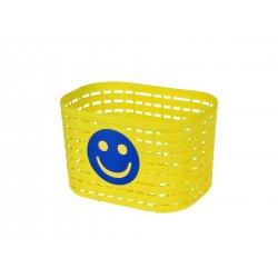 Корзина детская 200х140х130мм(пластик)желтая
