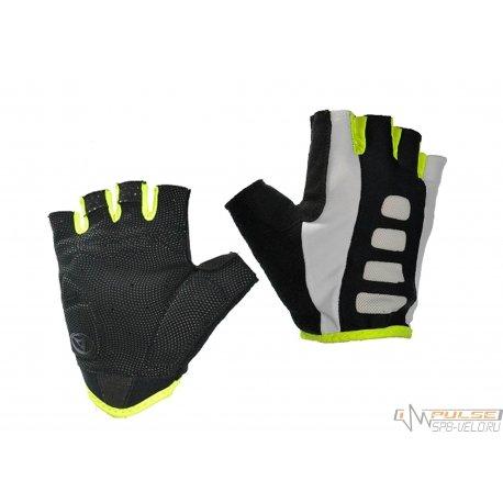 Перчатки AUTHOR MEN ARP 14A(черные/белые/желтые)XL