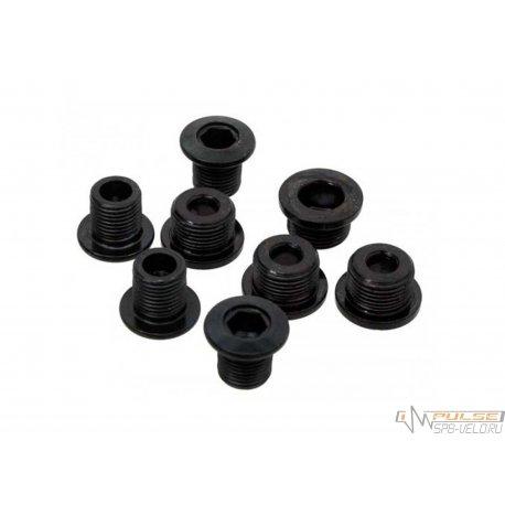 Бонки M-WAVE(M8x8.5x7.3мм)4шт(black)
