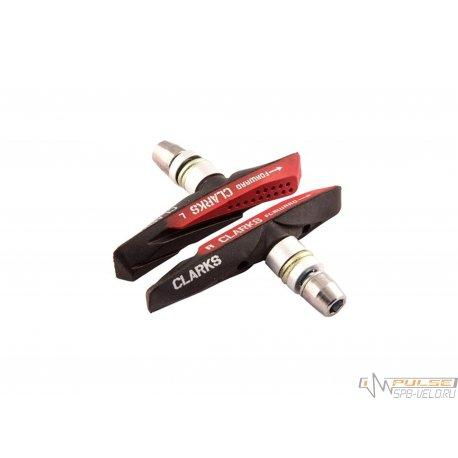 Колодки V-brake CLARKS CPS-958(72mm)2 compound