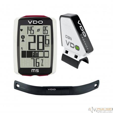 Велокомпьютер VDO M5WL(ALL IN ONE)13 function/каденс/пульс/беспроводной