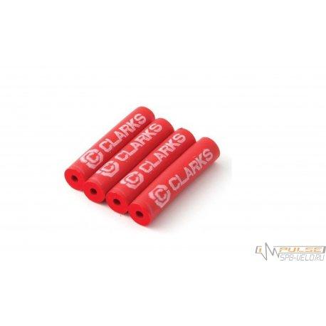 Защита рамы CLARKS FPX4(4x40mm)от трения рубашек/красная
