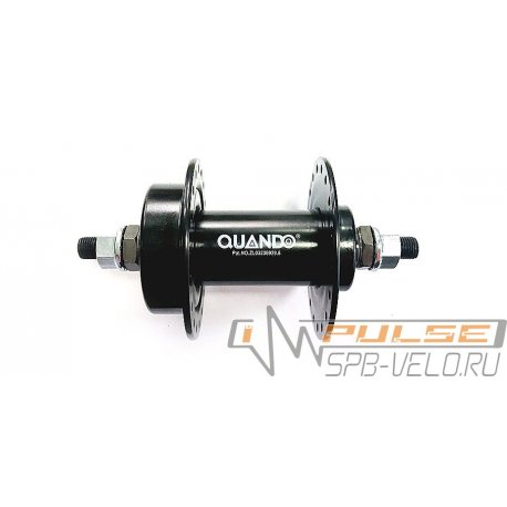 Втулка передняя QUANDO KT-M68F(36H/disc)black